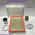 VAUXHALL ZAFIRA MK2 1.9 CDTI DIESEL 05-10 SERVICE KIT OIL AIR FUEL CABIN FILTER