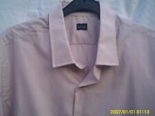 PAUL SMITH LONDON MENS STRIPED SHIRT COLLER 17.5INS