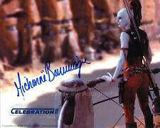 MICHONNE BOURRIAGUE as Aurra Sing - Star Wars GENUINE AUTOGRAPH UACC (R5924)