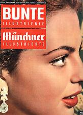 Kult-Zeitschrift BUNTE Nr 44 von 1960, Cover - Prinzessin Ira von Fürstenberg