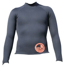 WARM 1.5 mm thermal Neo long sleeve rash vest 4 under wetsuit/alone in warm sea