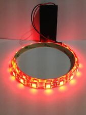 SNAKE VIVARIUM light Super Bright Red Led Light, 9V Battery Operated 500mm