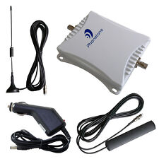 GSM Dual 900/1800MHz Phone Signal Booster Car Repeater 45dB Amplifier Extender