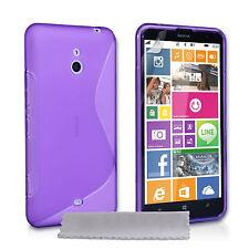 Caseflex Accessories Nokia Lumia 1320 Stylish Silicone Gel Case Cover & Film UK