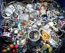 10KG - 10 Kilograms - Mixed Costume Jewellery - Wearable & Crafting