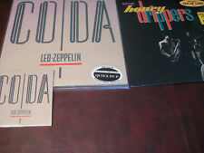 LED ZEPPELIN CODA CLASSIC RECORDS 200 Gram Audiophile Sealed LP + CD & LP bonus
