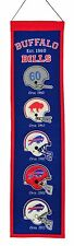 "Buffalo Bills Embroidered Wool Heritage 32"" Banner Pennant"
