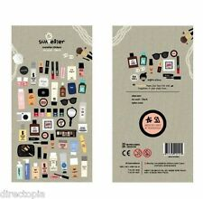 Make Up Cosmetics Beauty On Point Scrapbook Diary Album Decor Stickers Scrapbook