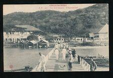 SE Asia Vietnam Cap Saint Jacques COCHINCHINE  L'Appontement PPC used 1910
