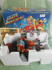 AMAZING SPACE MONSTER KING APE HEAT VEHICLE BATTERY OPERATED 80s VINTAGE TOY