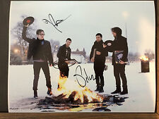 Fall Out Boy Signed 11x14 Photo  Pete Wentz, Patrick Stump, and Andy Hurley COA