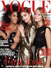 Vogue UK Magazine February 2017 - First Look : London, Milan, New York & Paris
