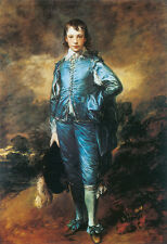 Blue Boy  by Thomas Gainsborough   Giclee Canvas Print Repro