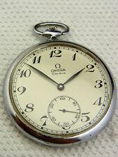 schöne alte Taschenuhr Omega Geneve  Unitas 6497