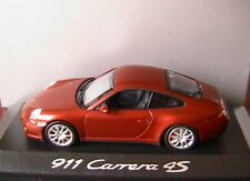 PORSCHE 911 997 FACELIFT CARRERA 4S COUPE 2009 RED METAL MINICHAMPS WAP0201718