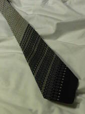 Vintage Tootal Tie in Green and White. (T139)