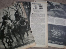 Photo article Turkey the Turkish army 1952 My Ref R