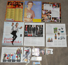 Justin Timberlake Sammlung Clippings The 20/20 Experience FutureSex/LoveSounds