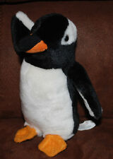 "Baby Penguin Stuffed Animal Plush Toy 7"" K&M International 2006"