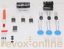 Reparatursatz, Revisionssatz für Revox B790, Netzteil, mit 3 PTCs und Plan