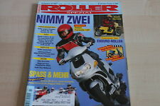 152220) Sachs Speedfight 50 TEST - Suzuki AN 125 vs Honda XV - Roller 03/1997