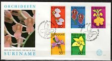 Suriname - 1977 Orchids - Mi. 748-52 clean FDC