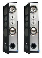 PAIR DIGITAL AUDIO DV-1450 PROFESSIONAL HOME THEATER SYSTEM SOLID OAK SUBWOOFER