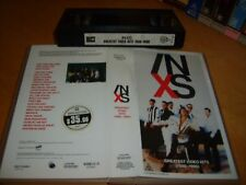 Vhs *INXS GREATEST VIDEO HITS(1980-1990)* Australian Warner Music Vision Edition