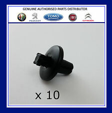 PEUGEOT 206 307 406 607 WHEEL ARCH COVER FASTENER CLIPS x10 8211WV