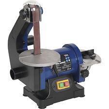 Sealey SM750 Bench Belt & Wheel Sander 125mm Disc 250w 240v