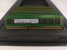 LOT 21 SAMSUNG M378B5173QH0-CK0 4GB 1Rx8 DDR3 PC3-12800U 1600MHz DIMM MEMORY RAM