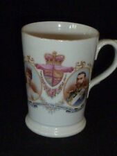 Rare Antique King George V & Queen Mary Coronation Mug 1911, Ceramic Art Co. Ltd