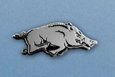 Arkansas Razorbacks Heavy Metal Auto Emblem [NEW] Chrome Car Decal Sticker CDG