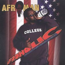 FREE US SH (int'l sh=$0-$3) USED,MINT CD Afroman: Afroholic the Even Better Time