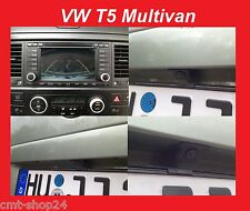 Original VW RF reversing Camera Retrofitting Set T5 Multivan RNS2 RNS 2 Caddy