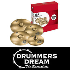 """Brand New SABIAN XSR Performance Set Cymbal Pack 14"""" 16"""" 20"""" with Free 18"""" Crash"""