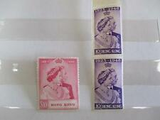 Stamps, Hong Kong 1948 Silver Wedding Set