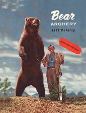 1961 Bear Archery Equipment Catalog  - Reproduction