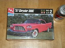 1957 CHRYSLER 300C, MUSCLE CAR, Plastic Model Kit ,Scale 1/25