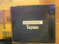 WET WET WET - YESTERDAY ( Lennon McCartney )  cd slim case PROMO NOT FOR SALE