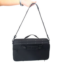 Durable Clarinet Carrying Case Padded Gig Bag w/ Side Pocket Shoulder Strap