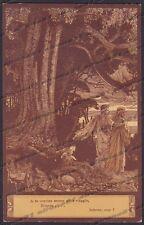 EZIO ANICHINI INFERNO DIVINA COMMEDIA Divine Comedy DANTE DANTESCA Cartolina 2