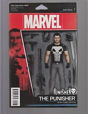 THE PUNISHER #1 - ACTION FIGURE VARIANT BY JOHN TYLER CHIRSTOPHER - 2016