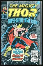 The Mighty Thor #450 What Can One Man Do? When Gods Make War! (Marvel 1992) B