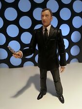 "DR WHO THE MASTER IN BLACK SUIT & LASER SCREWDRIVER JOHN SIMMS VERSION 5"" FIGURE"
