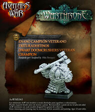 Avatars of War Dwarf Doomcrushers Veteran Champion BNIB