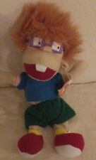 "Rugrats Chuckie Nickelodeon Doll NWT 9"" Tall Plush Stuffed Animal"