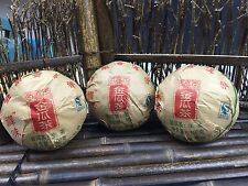 2005yr Yunnan Guiyou Tea Factory Jinguacha Pu'er Tuo tea 300g/3pcs/Raw/Sheng