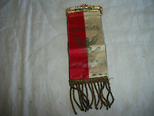 ANTIQUE UNIA POLEK W AMERYCE POLISH-AMERICAN FRIENDSHIP PIN BADGE RIBBON