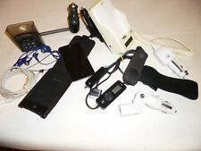 Misc 10 Lot-Older iPod, Apple iphone Charger Cradles/Cables Cords, iTrip *REPAIR